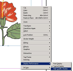 indesign scalable vector graphics plugin image display options